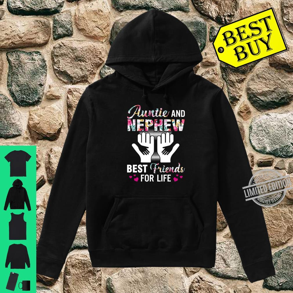 Auntie and nephew best friends for life shirt hoodie