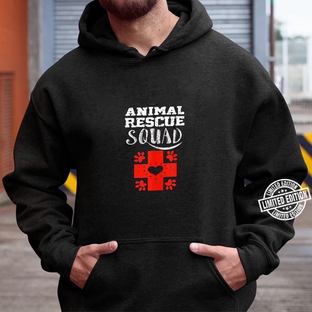 Cool Animal Rescue Squad Veterinary Team Shirt hoodie