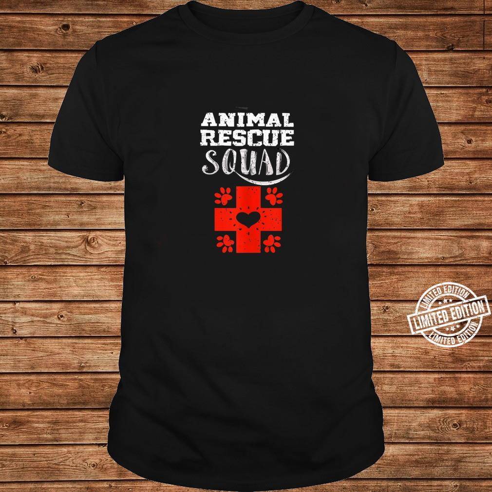 Cool Animal Rescue Squad Veterinary Team Shirt long sleeved