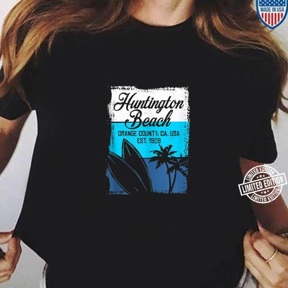 Cool Huntington Beach 2019 Surfing Competitions Shirt ladies tee