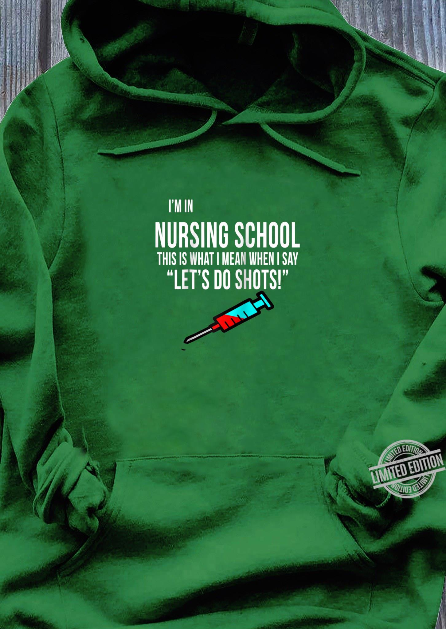 Funny Nursing School Graduation Rn Lpn Cna Nurse Bsn Shirt