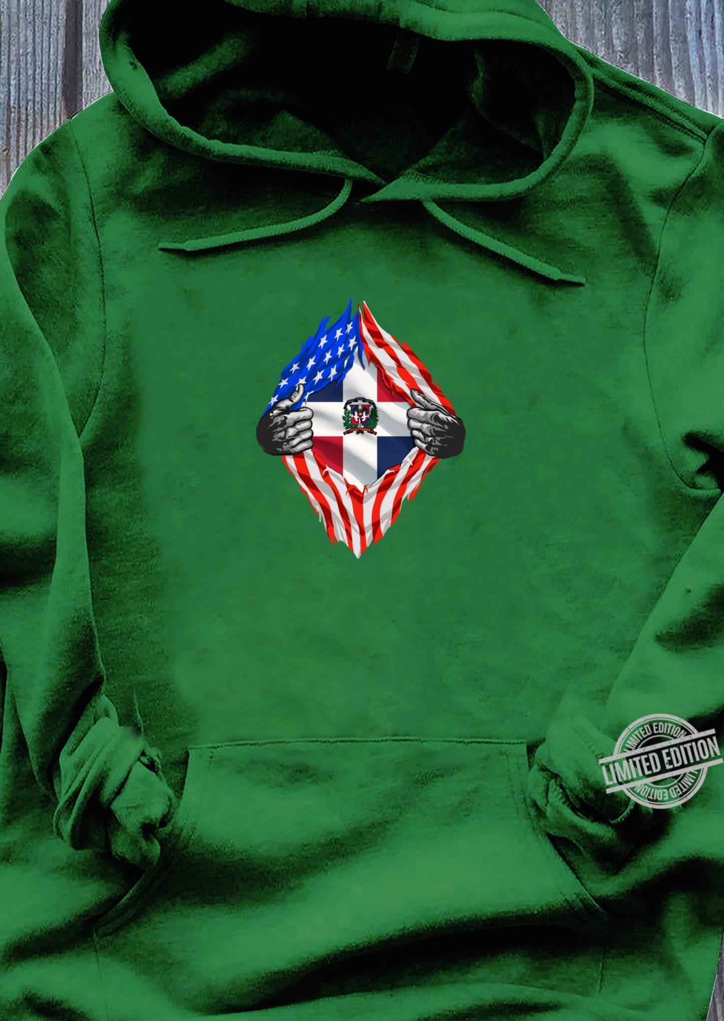 Super Dominician Heritage Dominician Republic Roots Shirt hoodie