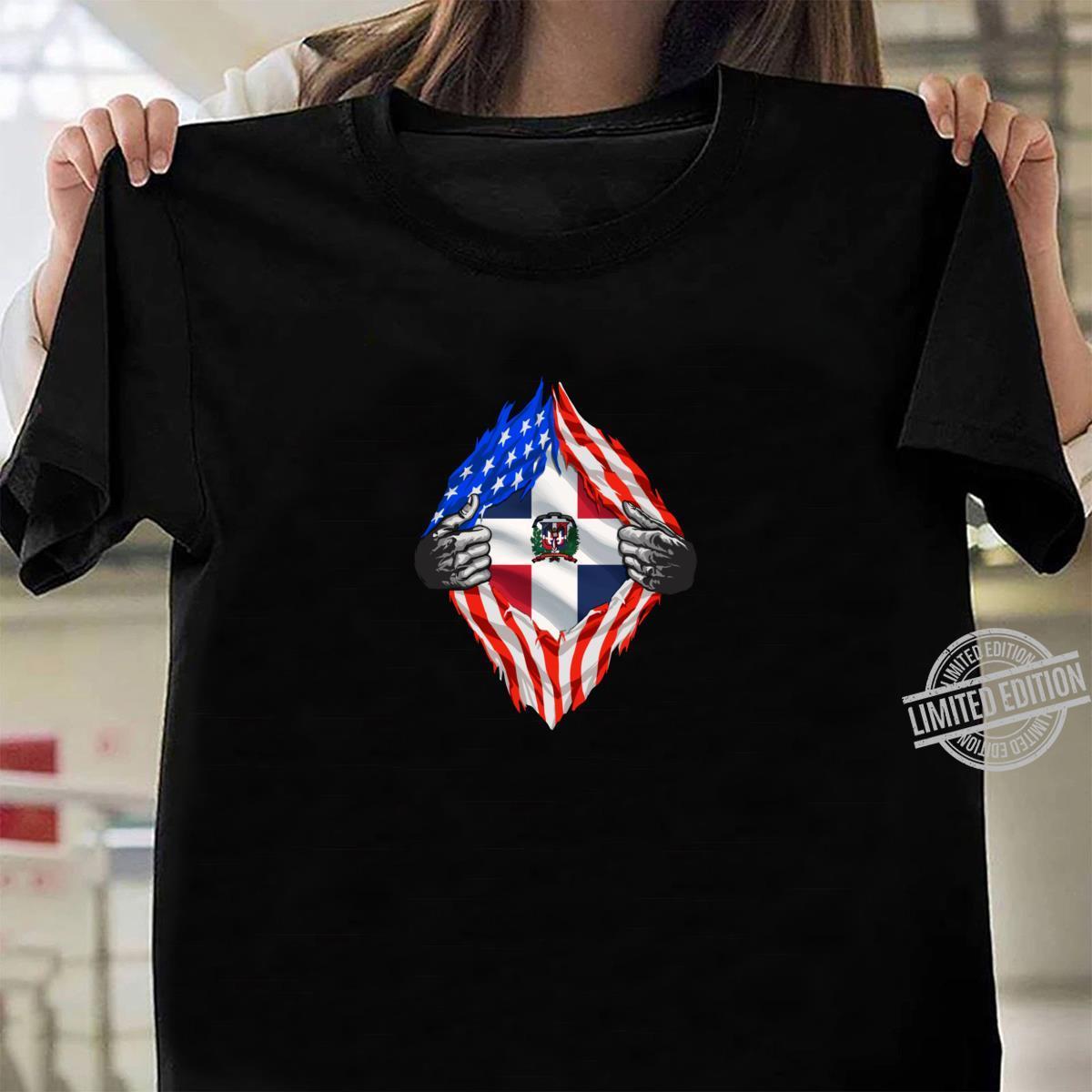 Super Dominician Heritage Dominician Republic Roots Shirt ladies tee
