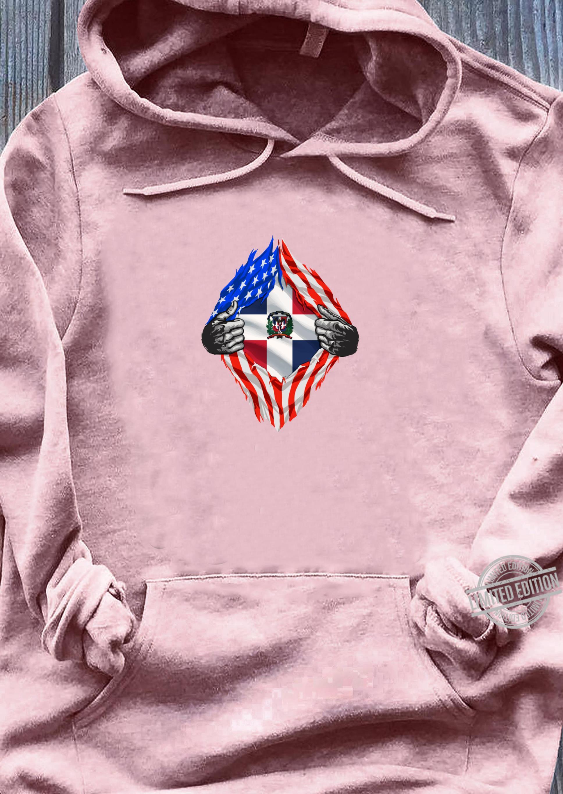 Super Dominician Heritage Dominician Republic Roots Shirt sweater