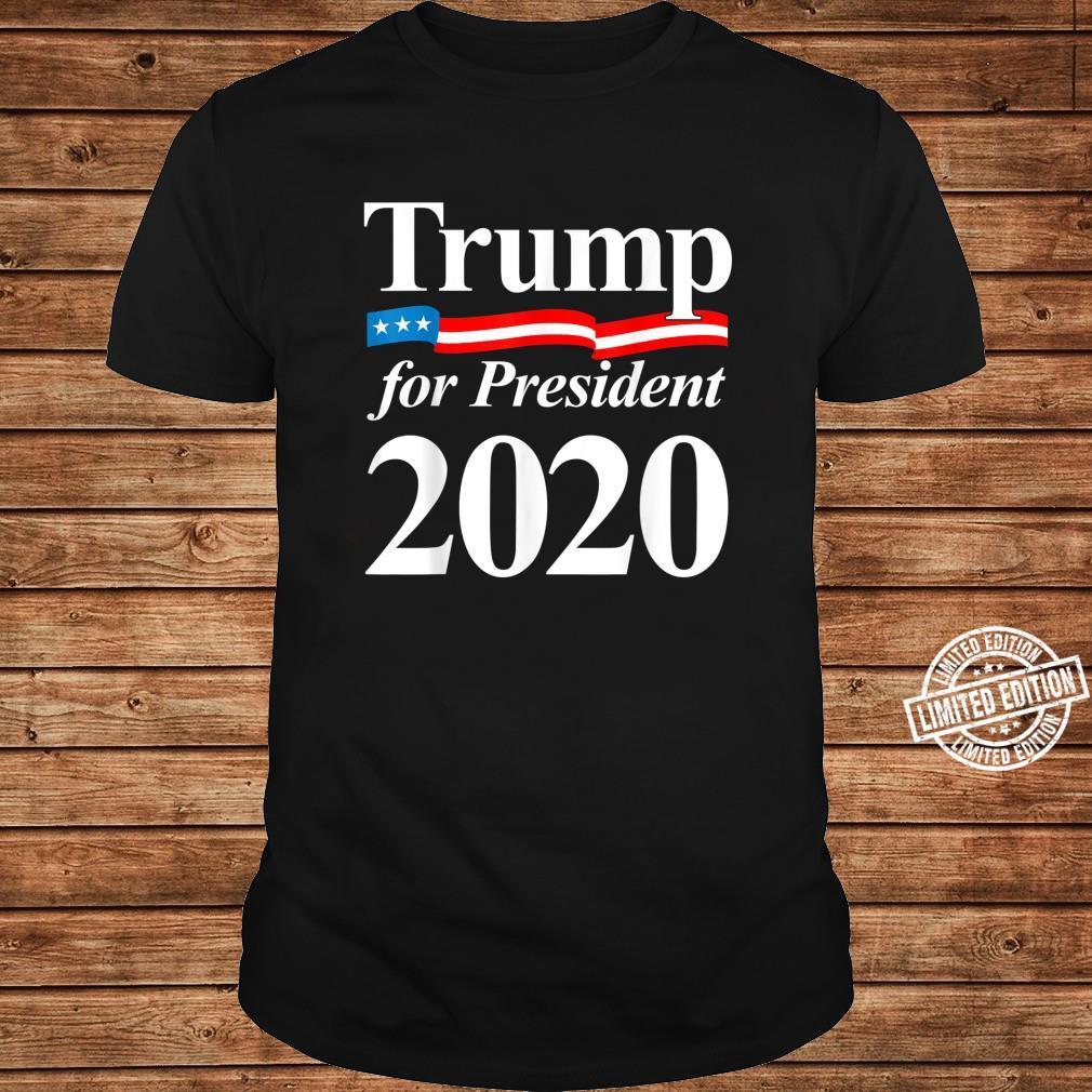 Trump 2020 Vote Election Campaign Shirt ladies tee