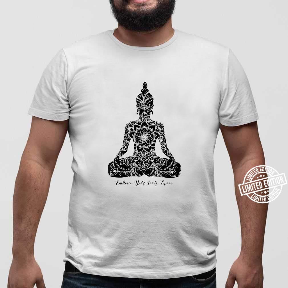 Umfassen Sie den Inneren Raum Chakra Mandala Meditation Yoga Shirt sweater