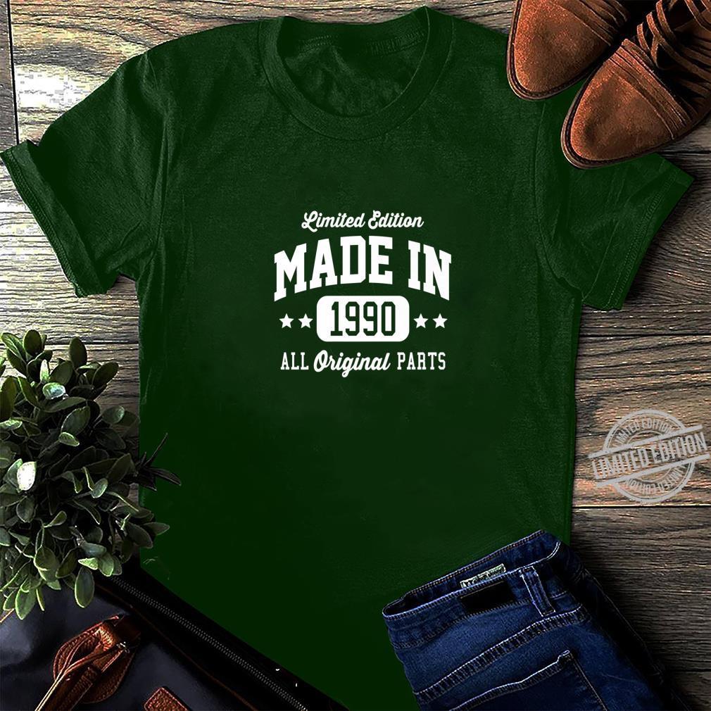 Vintage Made In 1990 Limited Edition Original Parts Dark Shirt long sleeved